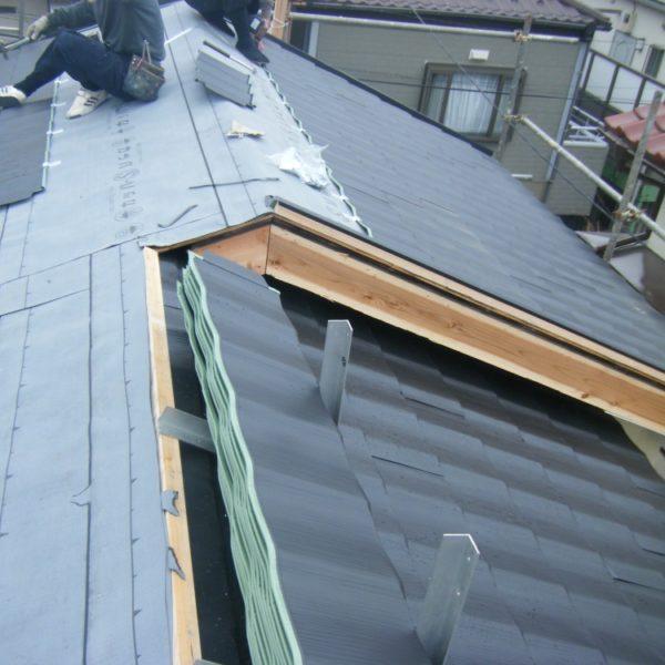 Before:屋根リフォーム