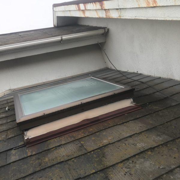 Before:金属屋根カバー・外壁塗装工事