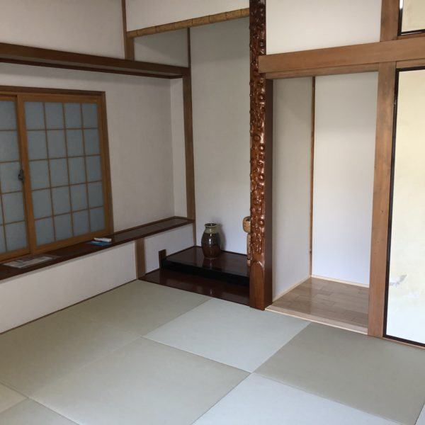 After:和室改修