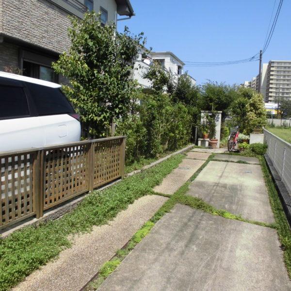 Before:フェンス工事